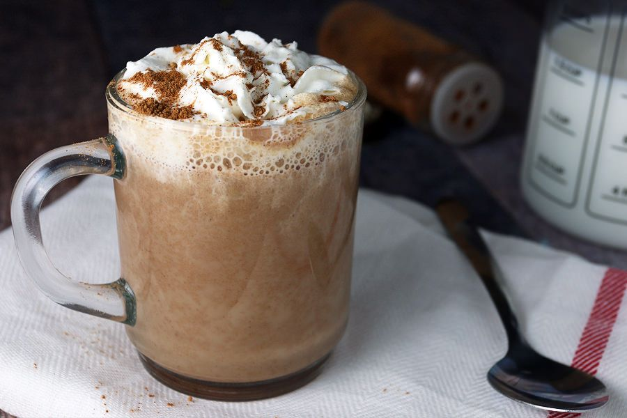 Keto Pumpkin Pie Spice Latte [Low Carb Coffee Recipe]