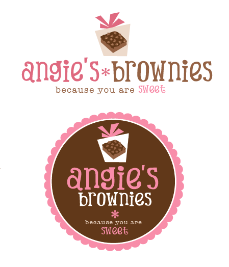 Create The Next Logo For Angie S Brownies By Hcpeace Logo Design Gifts Angie