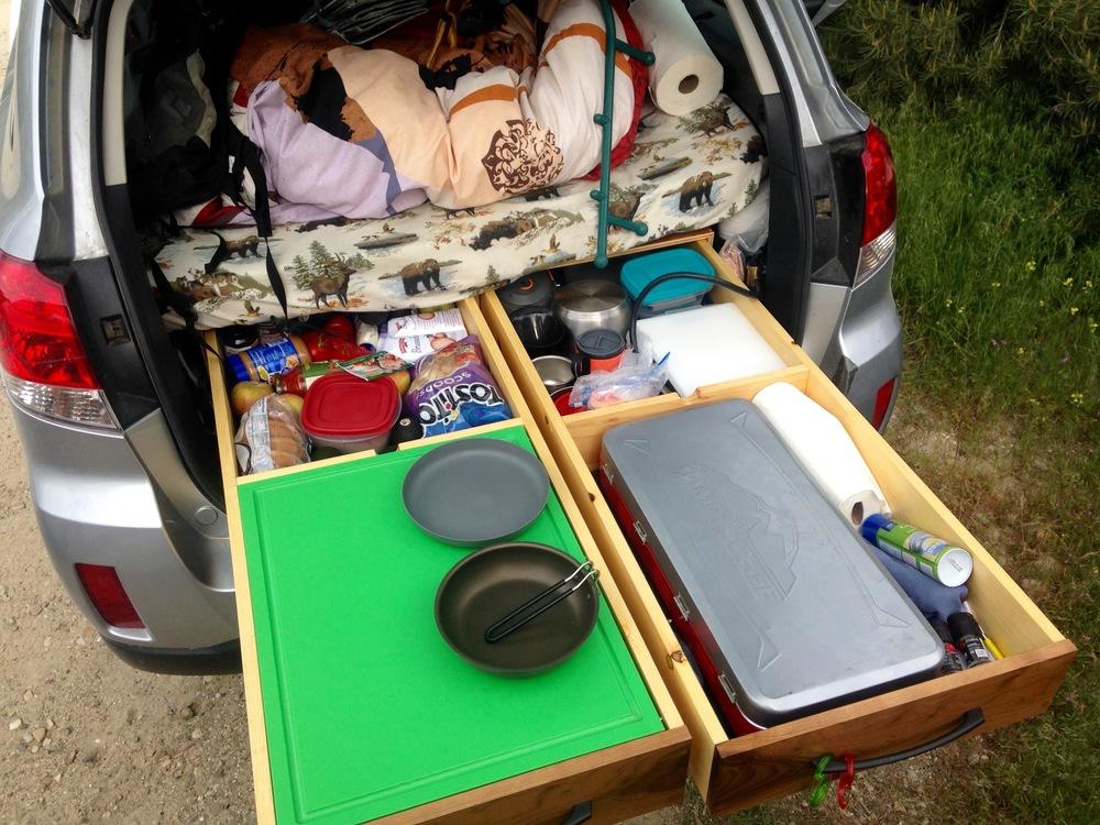 One Of A Kind Subaru Outback Camper Setup For Sale High Quality Custom Built 800 Outback Campers Subaru Outback Car Camping