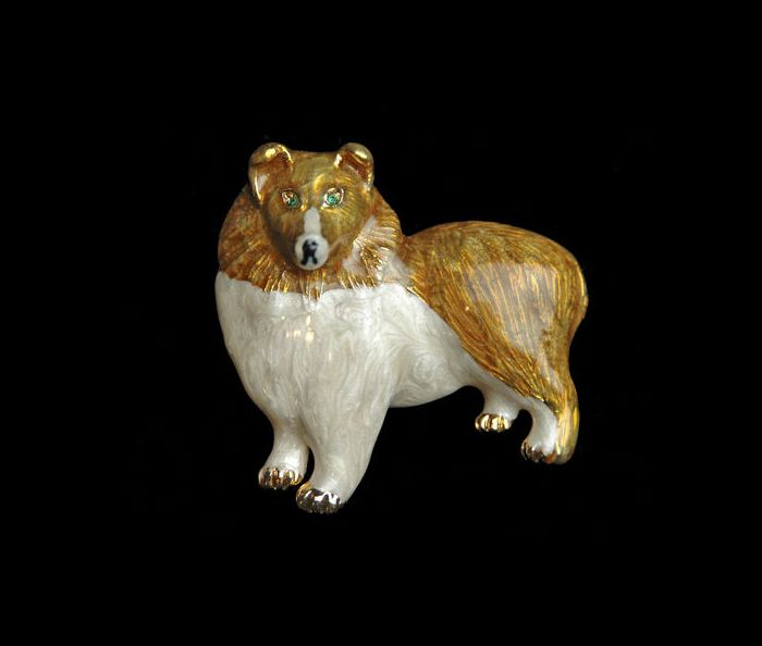 Collie Dog Jewelry Pin.  A great pin for #Collie dog owners or lovers.