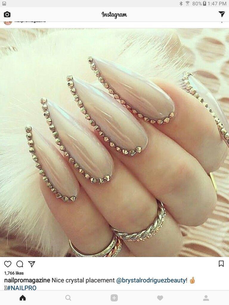 Pin van Paulina Matłoka op nails   Pinterest - Nagel