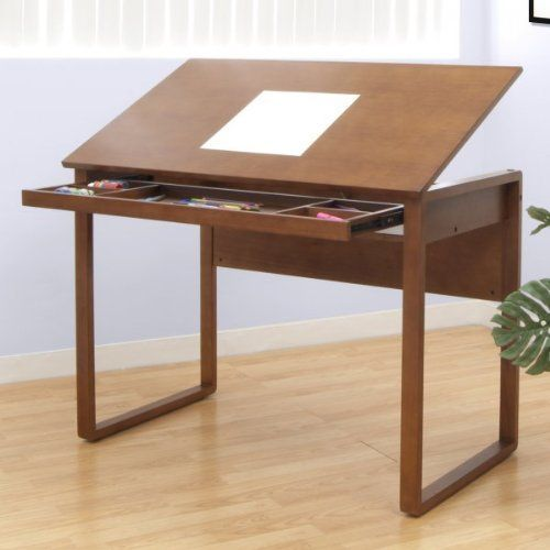 Pin By Marci Delfin On Bedroom And Home Studio Wood Drafting Table Drafting Table Drawing Table