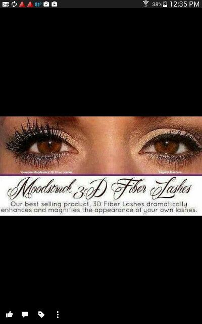 Audrey 's Voluptuous  3 D Fiber Lashes