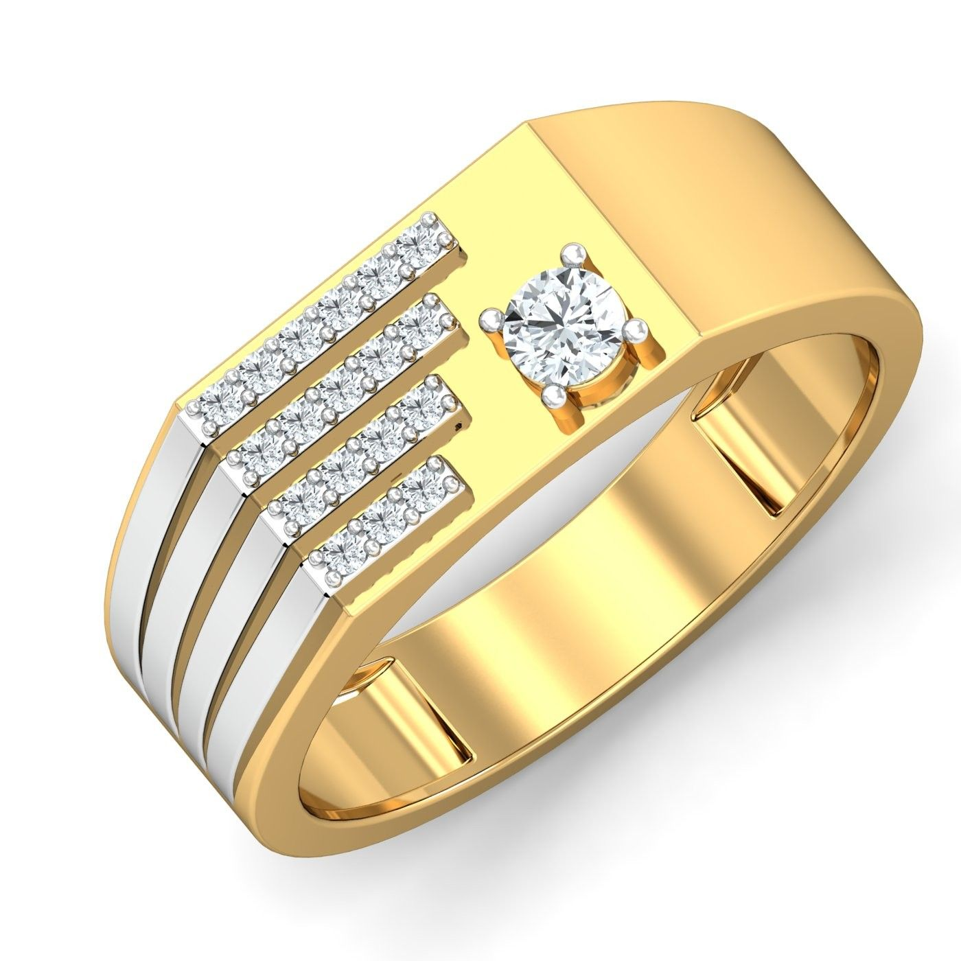 stone w miabella diamond ip gold in t engagement carat ring white rings three jewellery