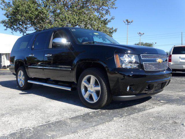 2014 Chevrolet Suburban Ltz 4x4 Black Chevy Suburban