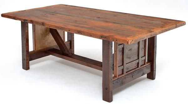 Reclaimed Wood Furniture, The Heritage Collection, Rustic ...