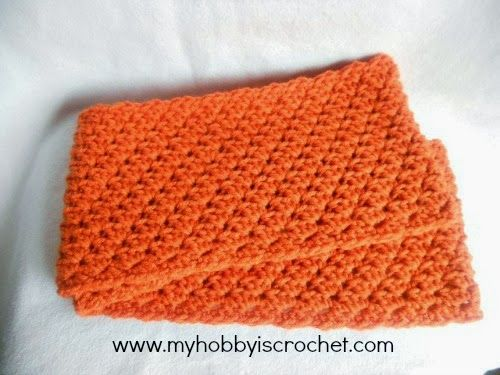 Crochet Infinity Scarf Doris - Free Written and Charted Pattern ...