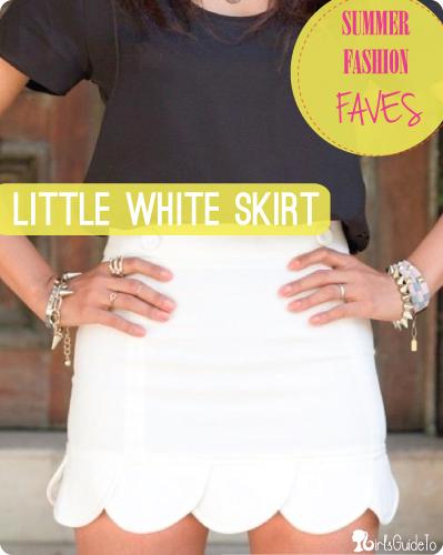 white topless Tiny skirt