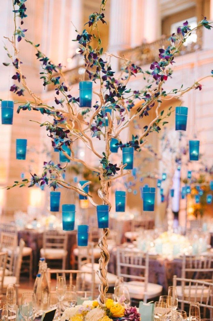 wedding centerpiece idea; Sarah Maren Photography