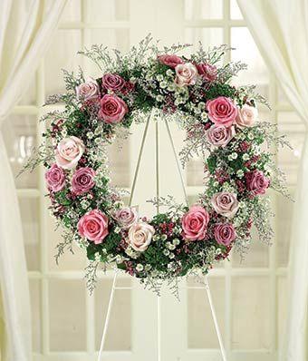 Funeral Wreath | Wreath for Funerals | FromYouFlowers® | Gardening ...