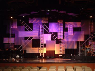 a los angeles set decorator answers everything about choosing the right lighting furniture and artwork to create realistic and evocative set designs - Small Church Stage Design Ideas