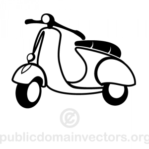 small city motorcycle vector image public domain vectors clip art vintage clip art scooter small city motorcycle vector image