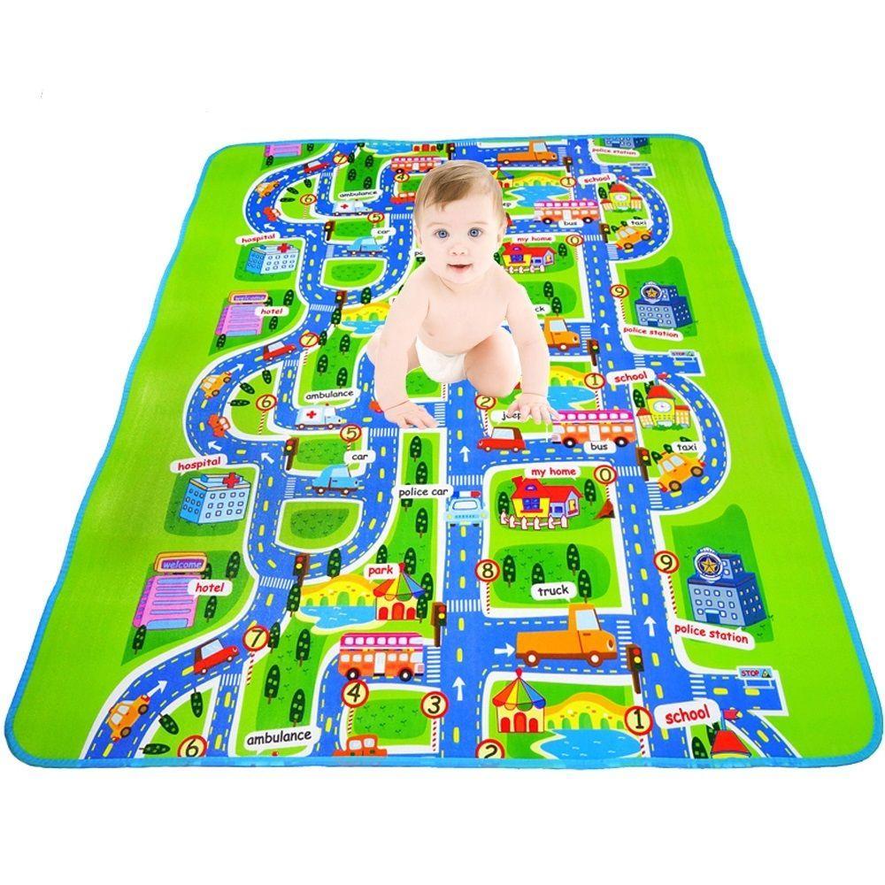 Baby Rubber Eva Foam Crawling Playmat Mat Puzzles Carpet Games Developing Kids