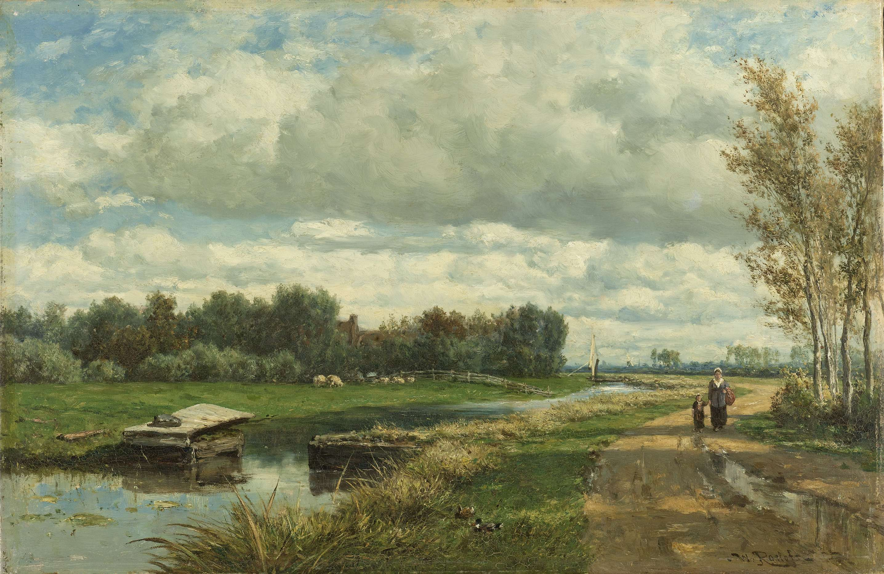 Landschap In De Omgeving Van Den Haag Willem Roelofs I