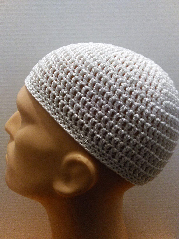 White silk blend kufi beanie skullcap crochet medium white silk white silk blend kufi beanie skullcap crochet medium bankloansurffo Choice Image