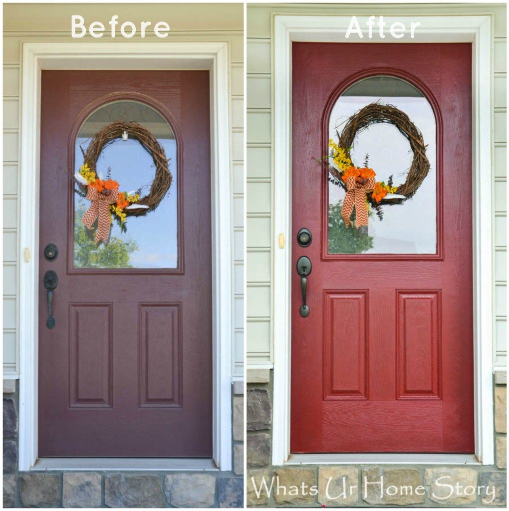 How To Paint A Front Door how to paint a front door | front doors, doors and tutorials