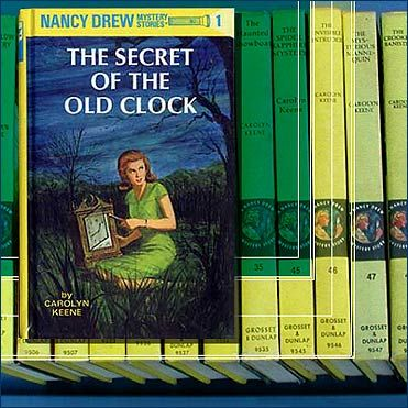 Nancy Drew series - I pretty much read every single one of these yellow hard covered copies...memories
