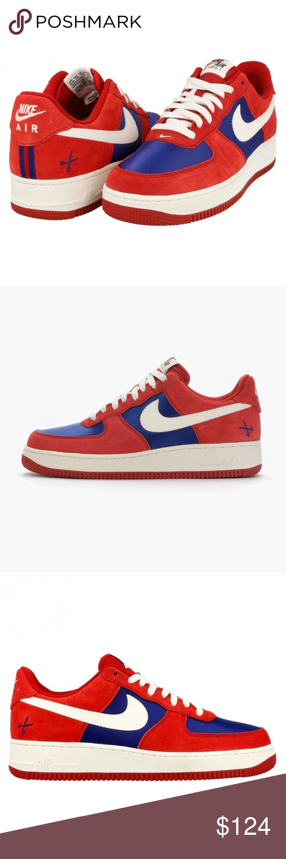 Nike Air Force 1 Low Barber Shop 10.5 2015 Classic Brand