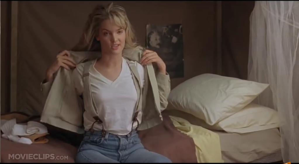 Bridgette Wilson With Suspenders In Quot Billy Madison