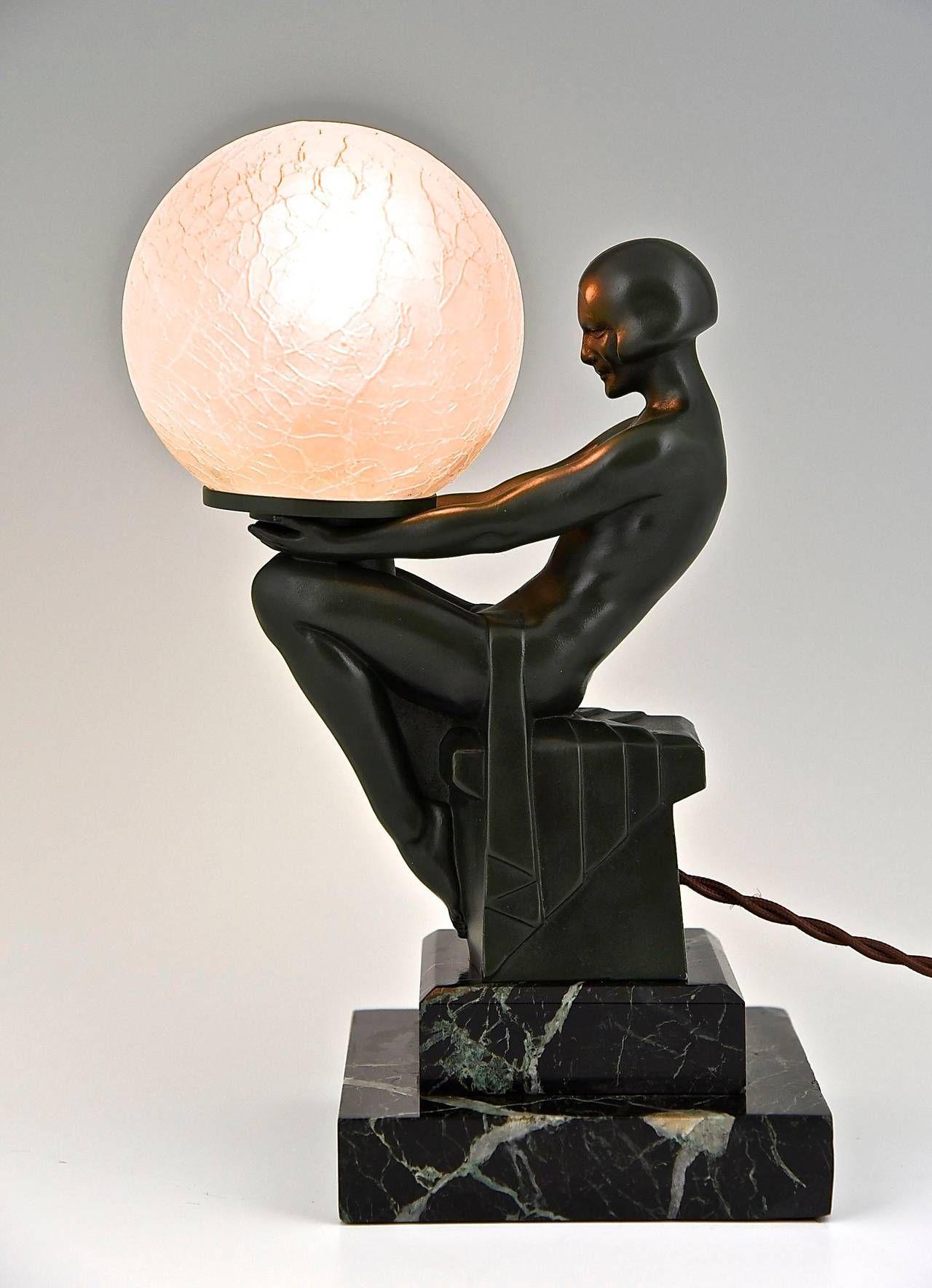 art deco lampen 1930