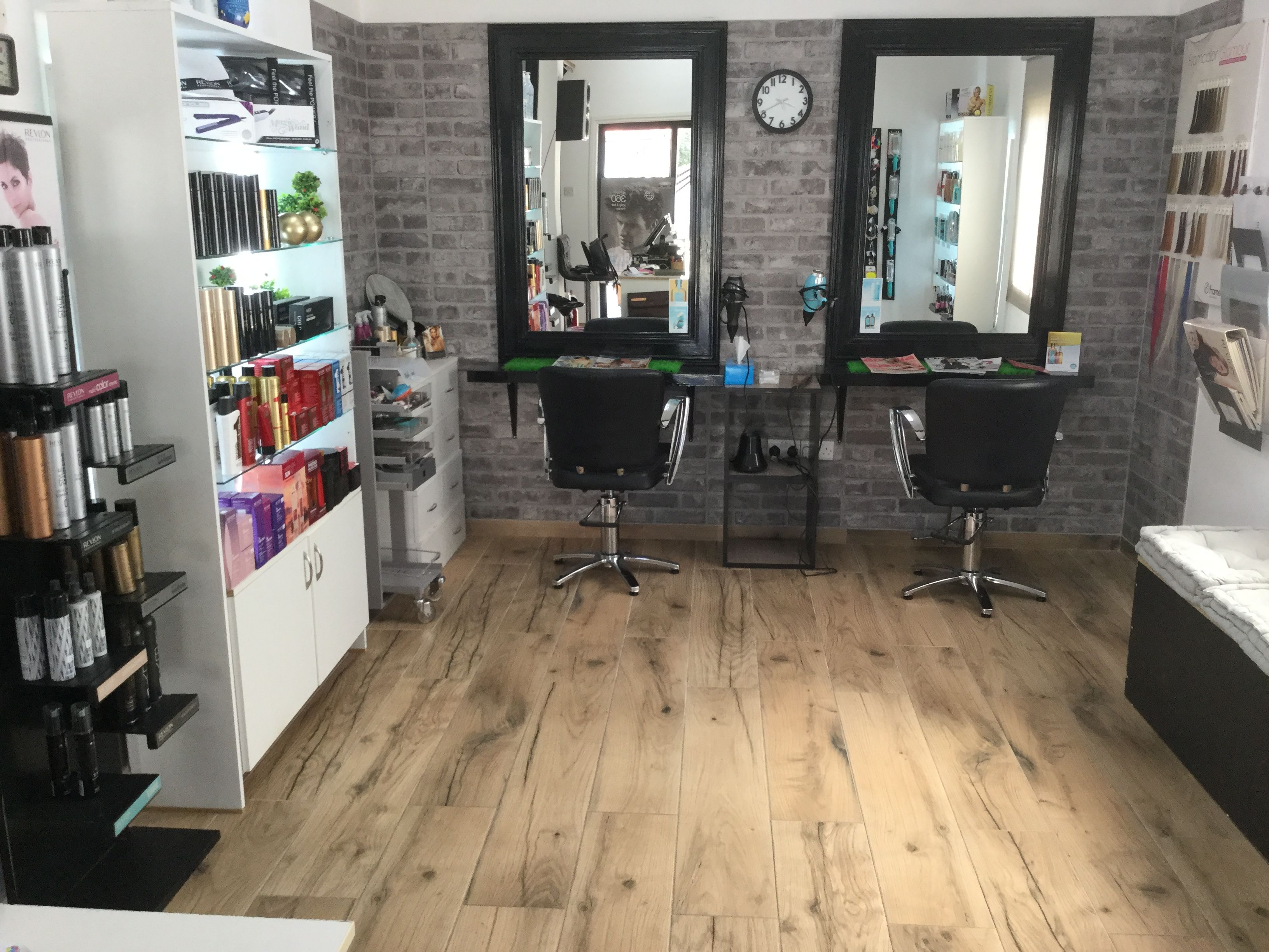 Hair Salon Ideas Home Hair Salons Rustic Salon Home Salon