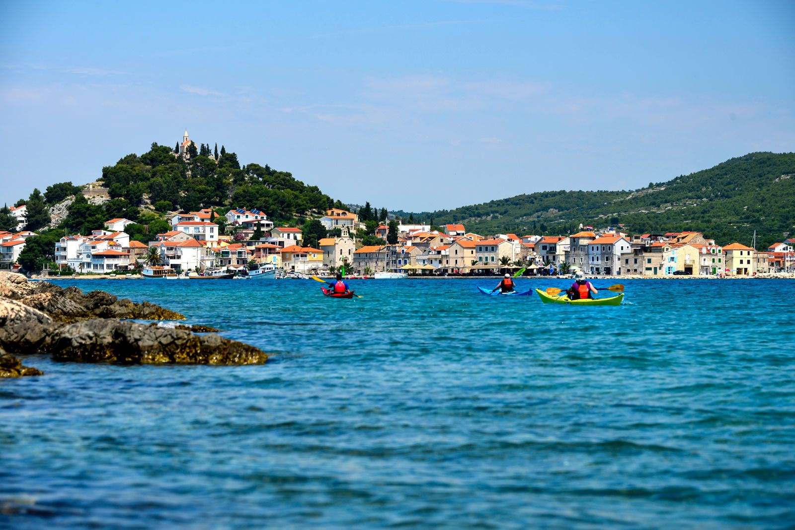 Croatia Kayaking Tours Of Remote Dalmatian Coast Islands Including The Kornati Archipelago Kayak Trips From Boutique