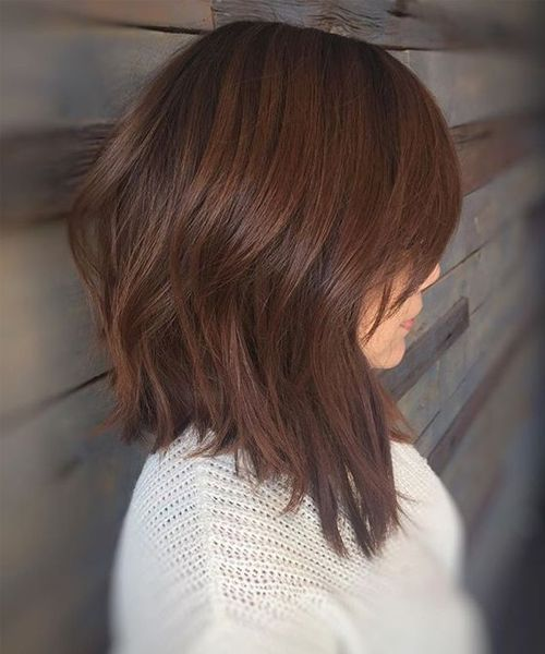 Shoulder Length Hairstyles 2018 Latest Trends And Fashion For Women. Graduated  Bob ...