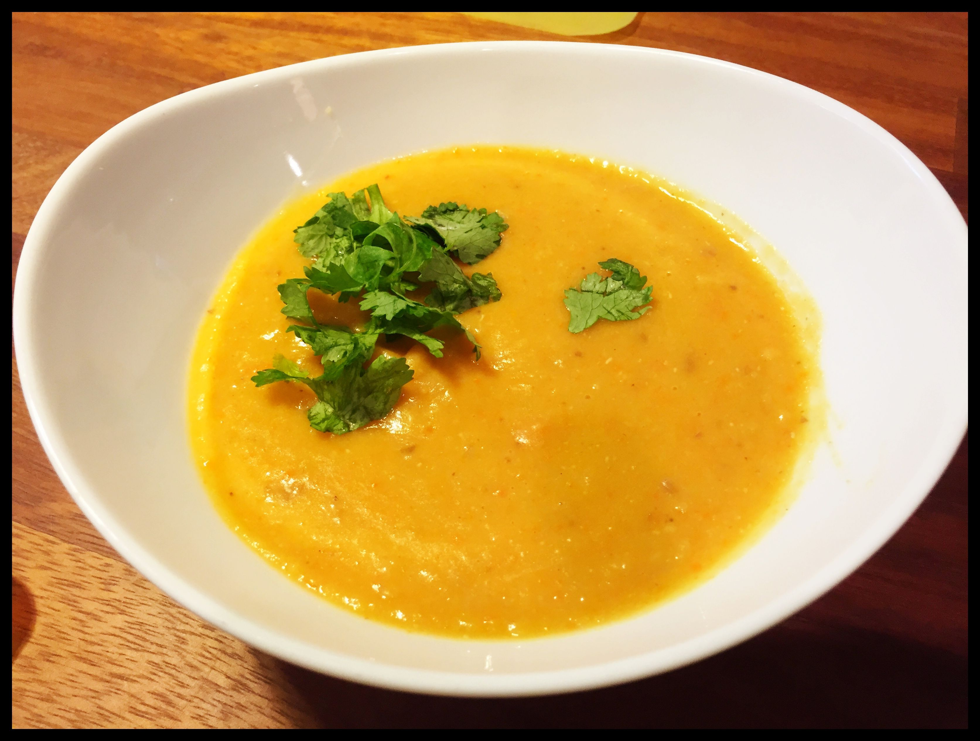 Lemony Red Lentil Soup (Thug Kitchen) | Exercise and Clean Eating ...