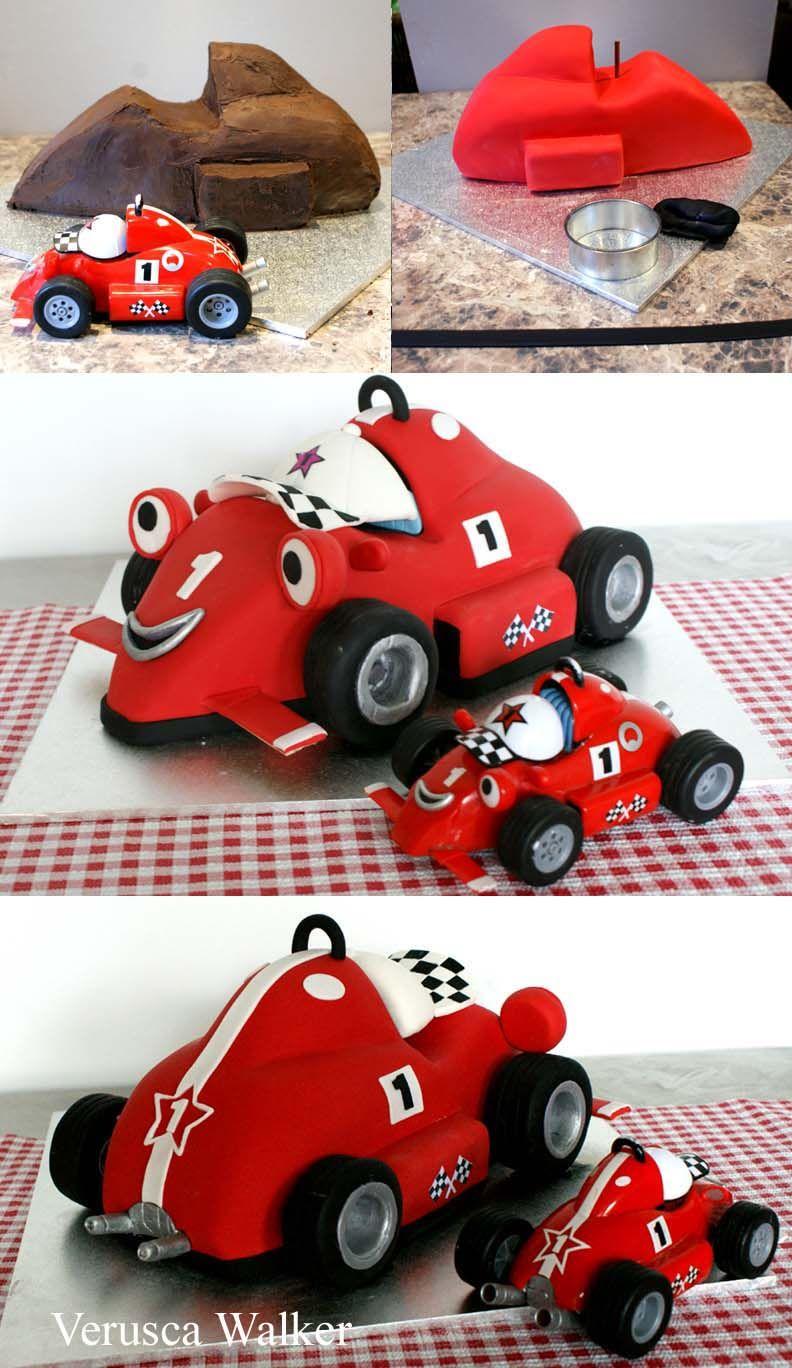 Roary racing car cake progress by verusca walker formatorta roary racing car cake progress by verusca walker baditri Choice Image
