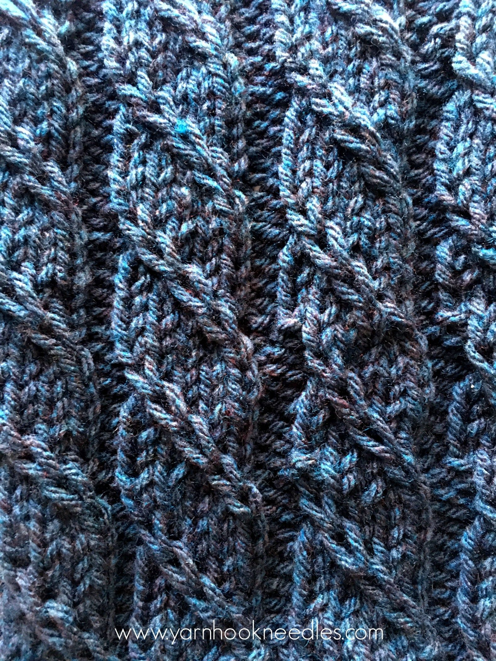 Twisted Trill Knitting Stitch with FREE Pattern Link - Yarn ...