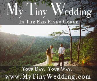 My Tiny Wedding In The Red River Gorge Packages For A Variety Of Wedding Sizes And Budgets Kentucky Tiny Wedding Tiny Wedding Venues Kentucky Wedding Venues