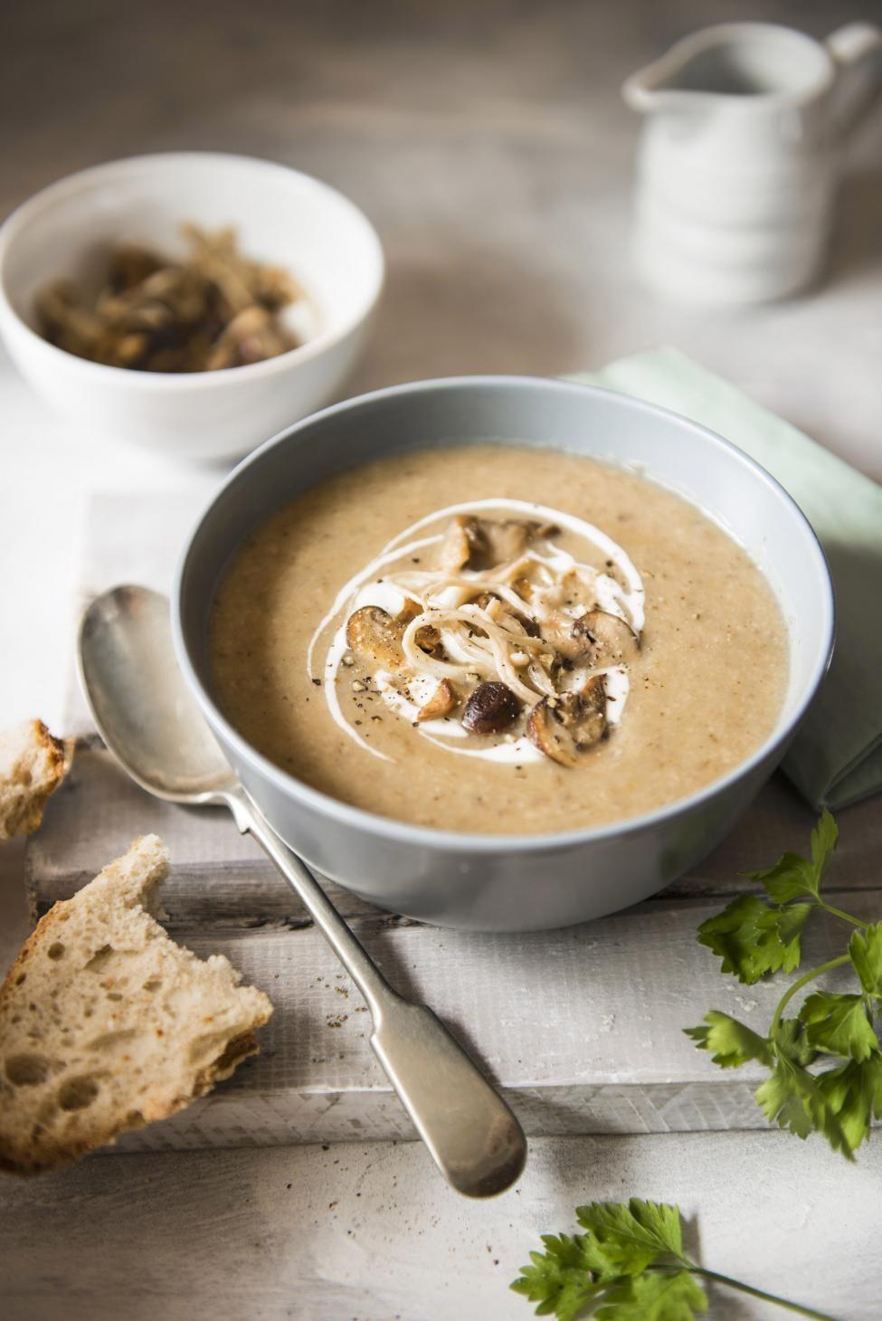 Velouté de champignons | Recette | Velouté champignon, Recette, Alimentation