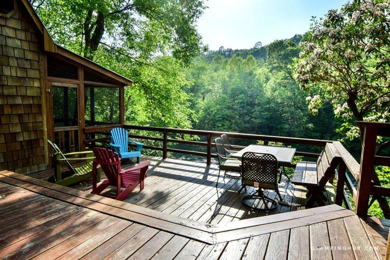 Explore cabin rentals with indoor pool glamping