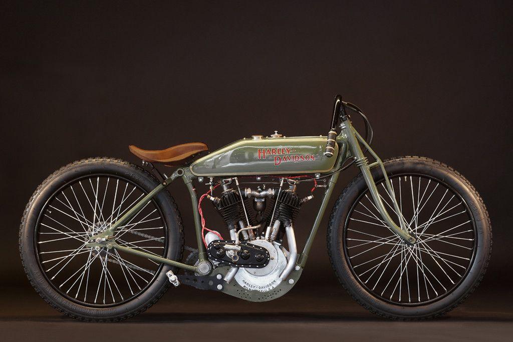 1920 Harley Davidson Olive Board Track Racer Harley Davidson