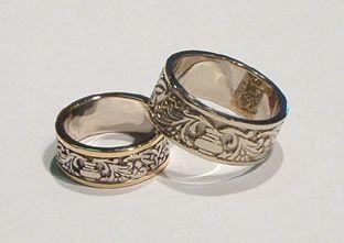 medieval wedding rings