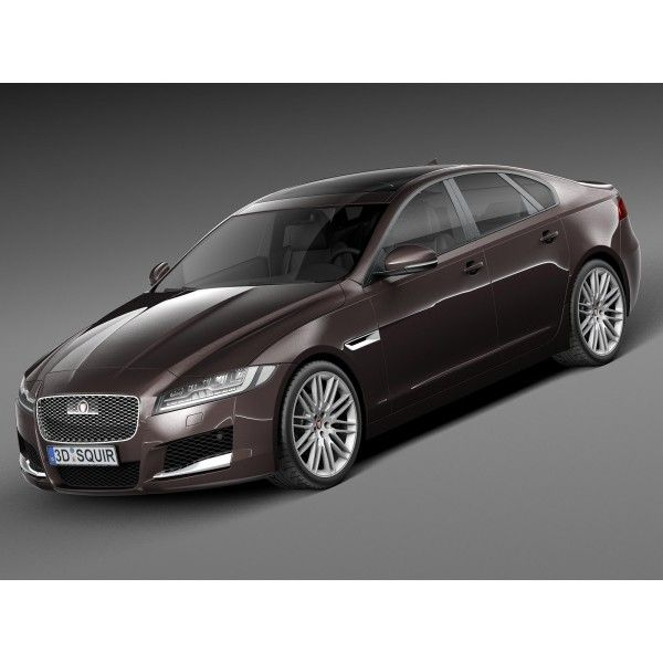 Jaguar Xf Sportbrake 2012 3d Model: Jaguar XF 2016 - 3D Model