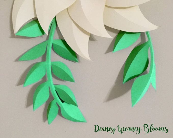 Paper Flowers Pdf Flower Center Template Package Of 2 Sizes Etsy Paper Flowers Paper Flower Template Leaf Template