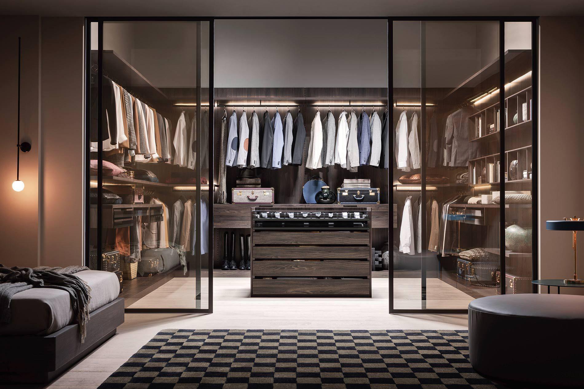 Luxus Ankleidezimmer Slaapkamerkleuren Dressing Room Design
