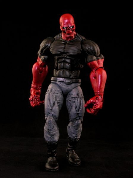 this is a marvel legends Mettle Custom Action Figure he was made ...