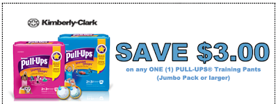 graphic about Printable Coupon $3 Off Pull Ups named Frugal Mother and Spouse: 2 x $3 off Huggies Pull-Ups Discount codes