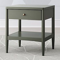 Best Kids Parke Navy Blue Nightstand Reviews Crate And 400 x 300