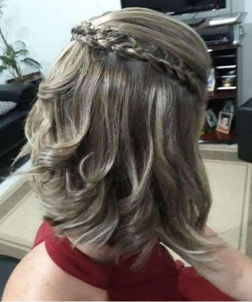 Marvelous Medium Prom Hairstyles 2019 With Braids And