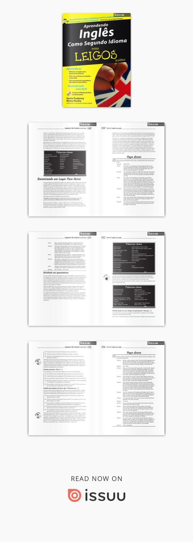 Livro Ingles Para Leigos Ingles Para Leigos Aprender Ingles E
