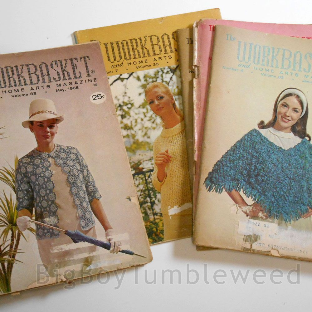 Vintage 12 pc lot 1968 complete year workbasket magazine craft vintage 12 pc lot 1968 complete year workbasket magazine craft home arts crochet bankloansurffo Choice Image