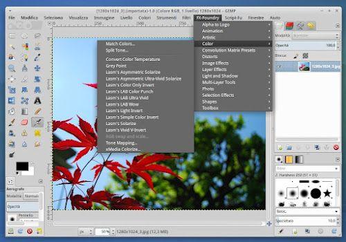 Gimp Plugin Registry Ora Anche Per Gimp 2 8 Tutorial Gimp Immagini Script