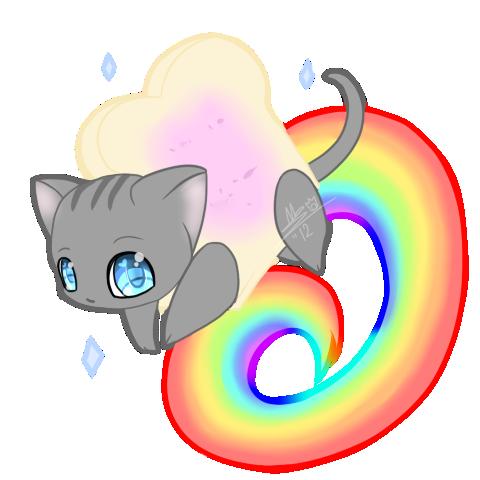 Nyan Cat By Dark Chusan On Deviantart Katzen Kunst Kawaii Katze Niedliche Tierzeichnungen