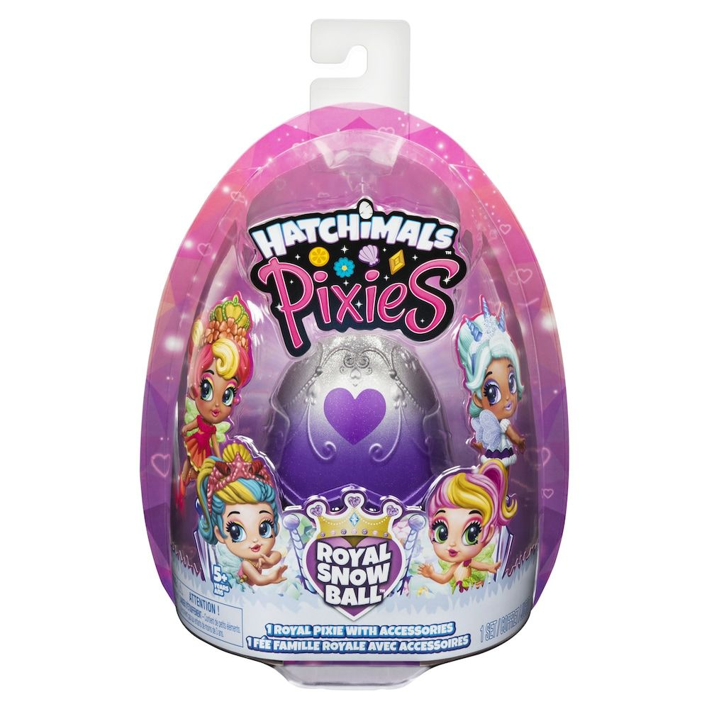 Hatchimals Pixies Royal Snow Ball Collectible Doll And Accessories In 2020 Collectible Dolls Hatchimals Girl Birthday Party Gifts
