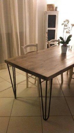 fabriquer sa table a manger est un jeu d enfant avec nos pieds de table en tete d epingle