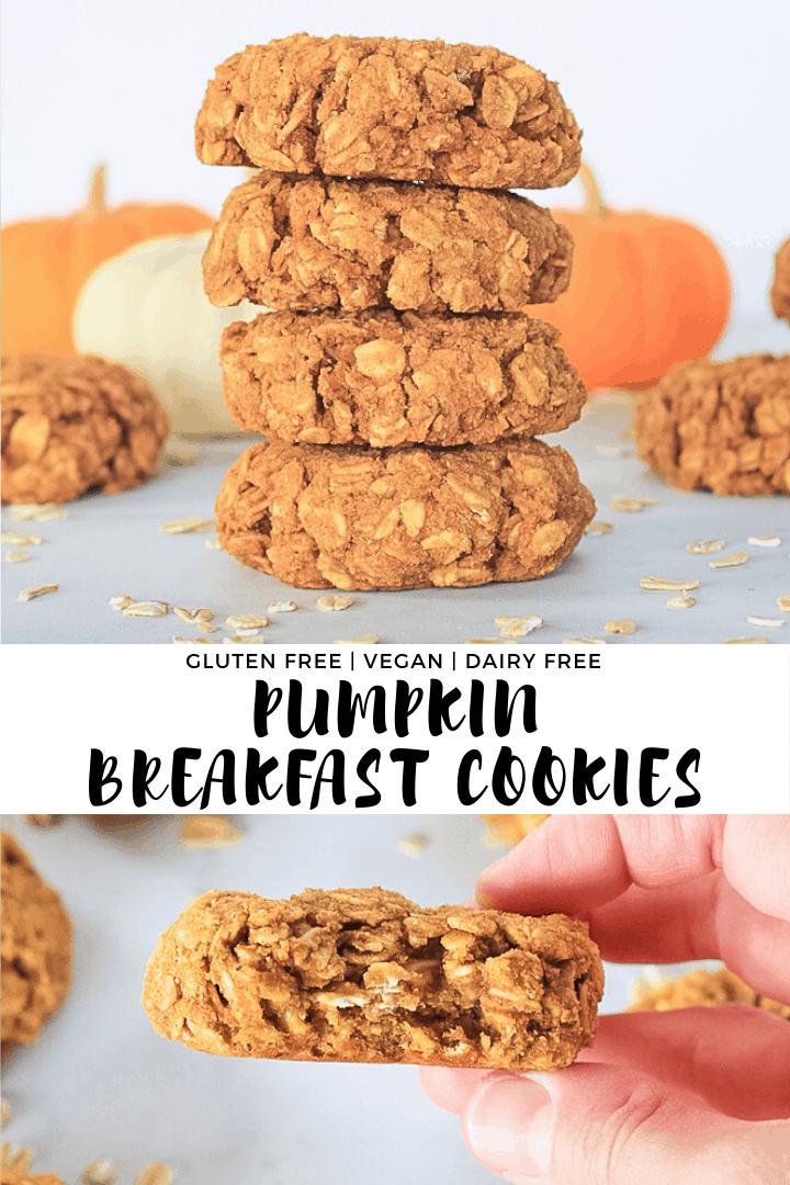 Pumpkin Breakfast Cookies Finished With Salt Recipe In 2020 Pumpkin Breakfast Pumpkin Breakfast Cookies Breakfast Treats