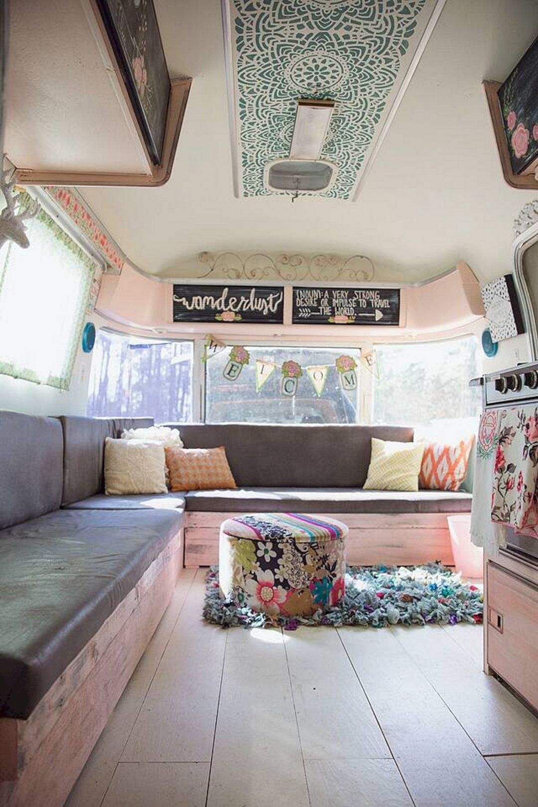 45 top camper decorating ideas | outdoor living | camper, remodeled